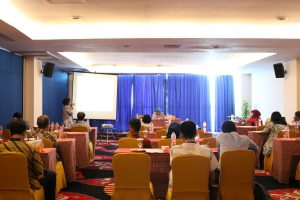 One of the mini session setting held in separate room